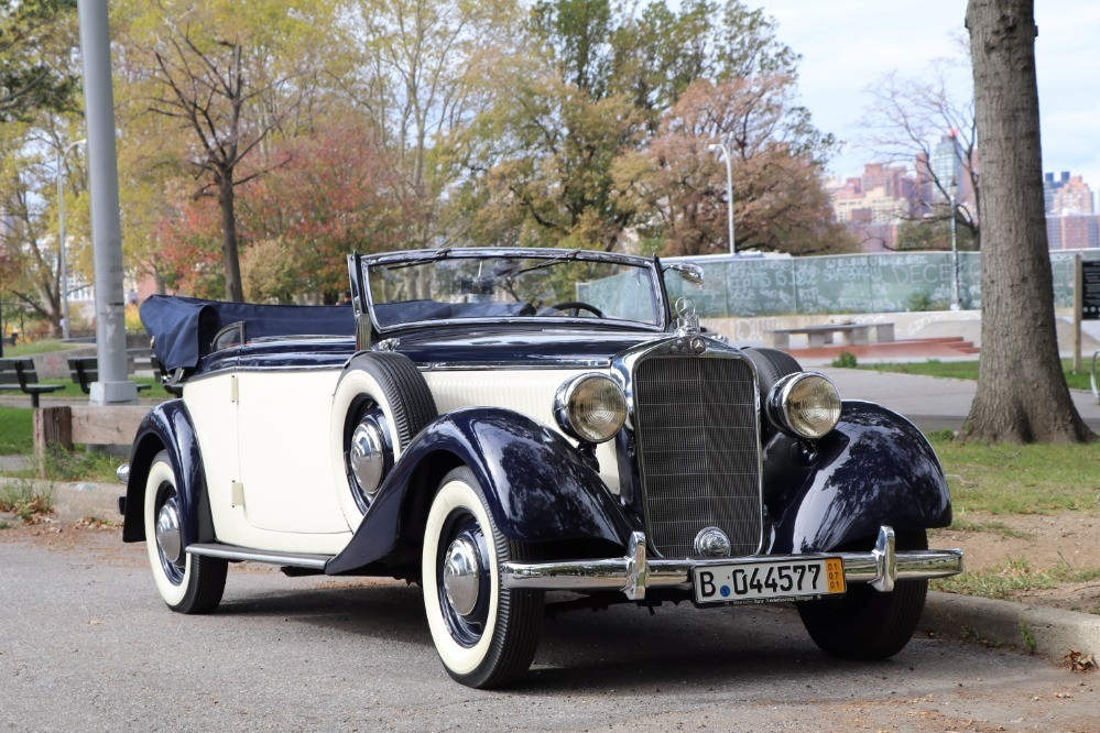 1938 mercedes benz 230 cabriolet b stock 21483 for sale for Mercedes benz 230 for sale