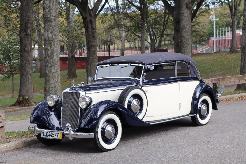 1938 mercedes benz 230 cabriolet b stock 21483 for sale for Mercedes benz sign for sale