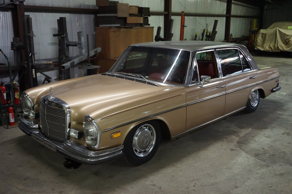1970 mercedes benz 300sel stock 21485 for sale near for Mercedes benz dealership for sale