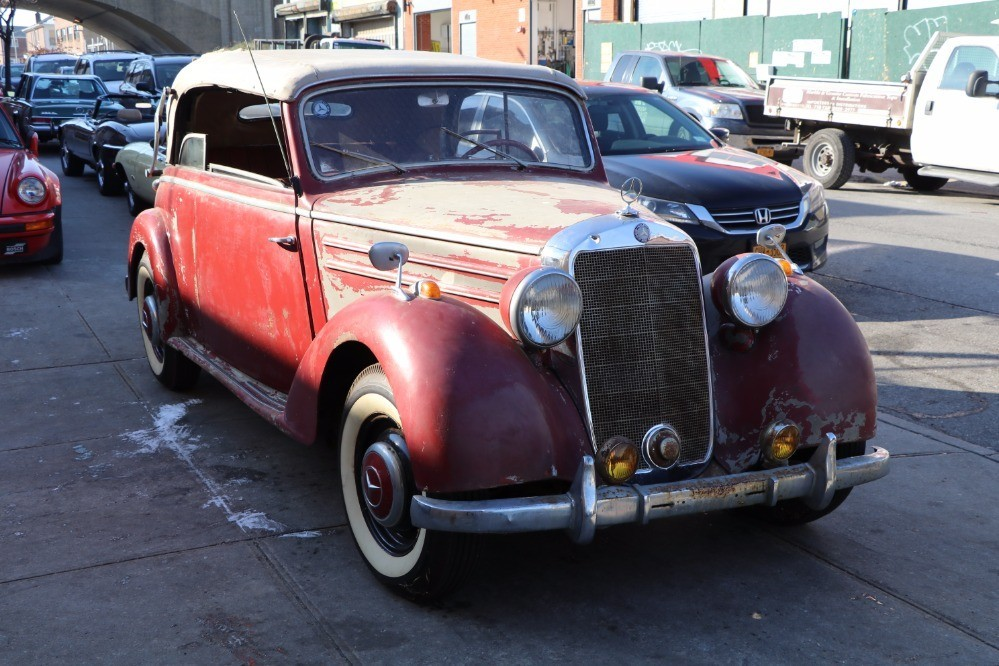 1950 Mercedes Benz 170s Cab B Stock 21602 For Sale Near