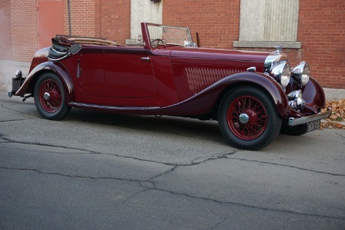 1935 Bentley 3 1/2 Litre Drophead