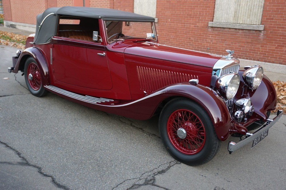 Used 1935 Bentley 3 1/2 Litre Drophead | Astoria, NY
