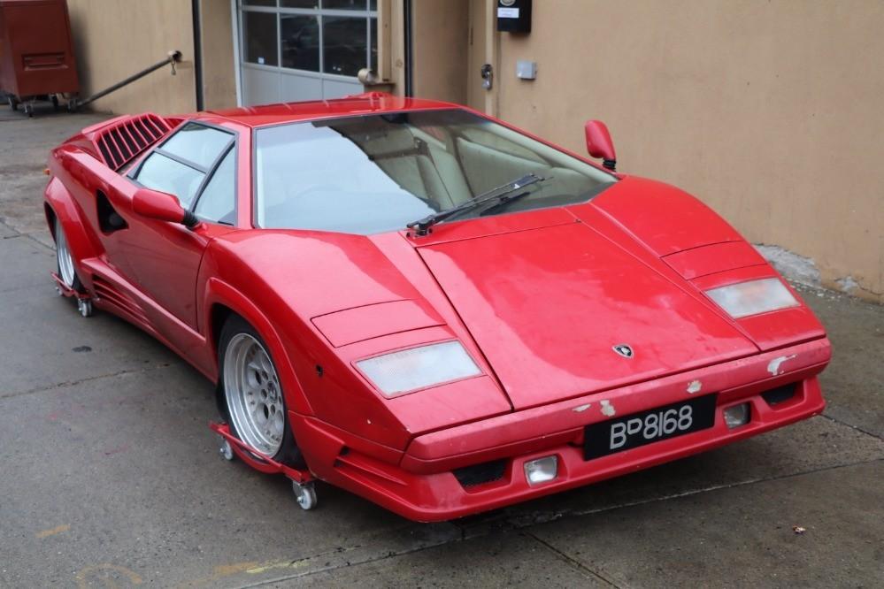 1989 Lamborghini Countach Stock 21567 For Sale Near Astoria Ny