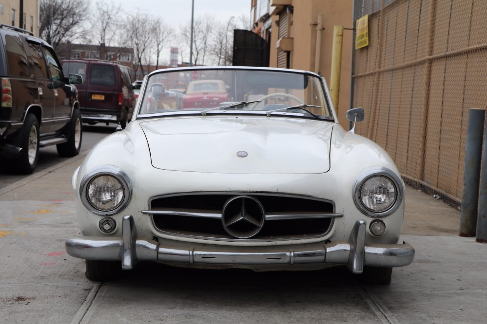 1962 mercedes benz 190sl stock 21677 for sale near for Mercedes benz sign for sale