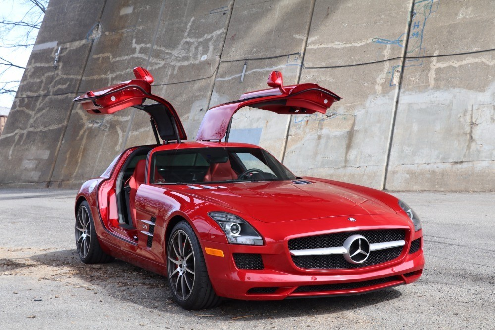 2012 mercedes benz sls amg 6 3 gullwing stock 21759 for. Black Bedroom Furniture Sets. Home Design Ideas