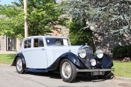 1937 Bentley Saloon 3.5 Litre Thrupp & Maberly Sport