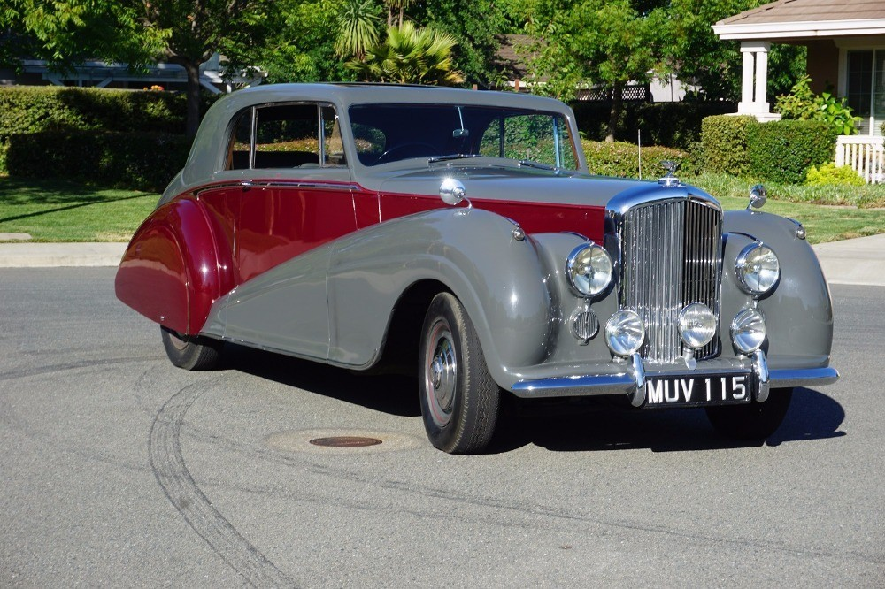 1951 Bentley Park Ward Coupe RHD