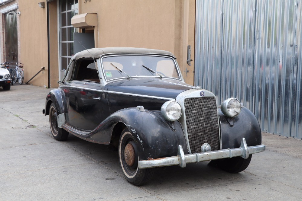 1952 mercedes benz 170s cab a stock 21941 for sale near for Mercedes benz 170 ds for sale