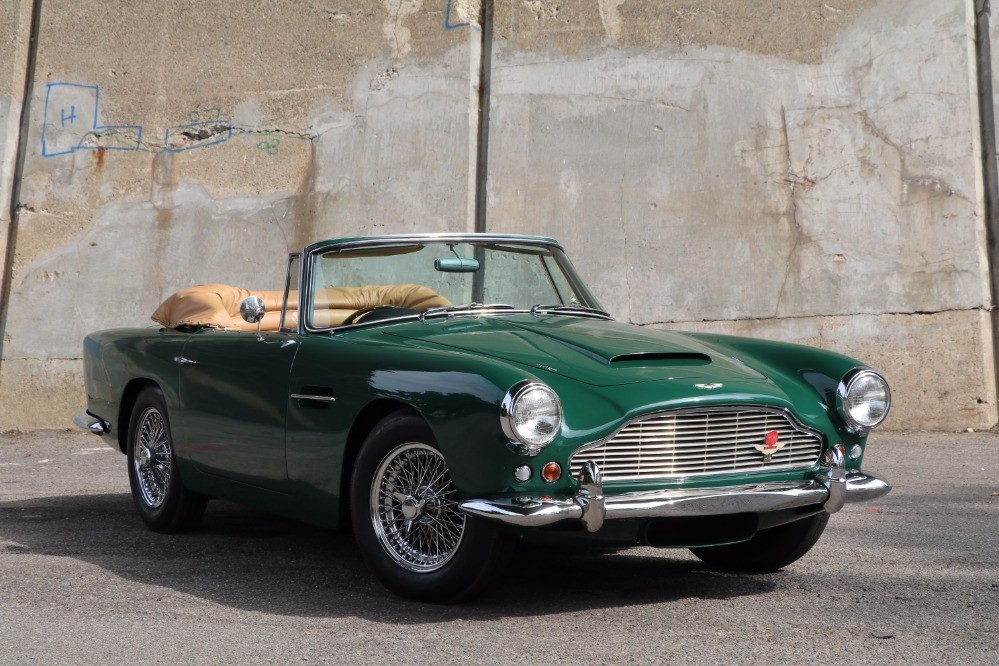 1962 aston martin db4c convertible series iv ss vantage with factory overdrive stock 21965 for. Black Bedroom Furniture Sets. Home Design Ideas
