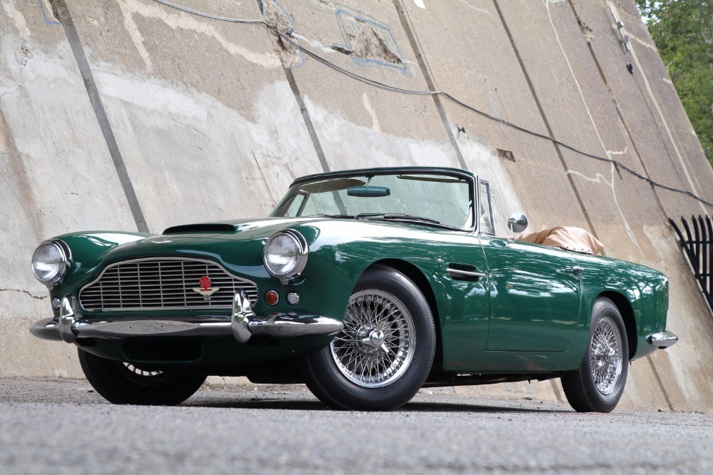Used 1962 Aston Martin DB4C Convertible Series IV SS Vantage with Factory Overdrive  | Astoria, NY
