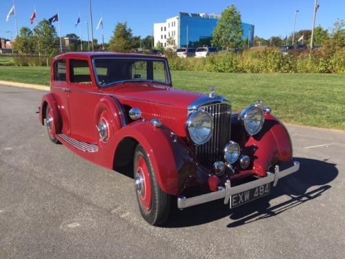 1938 Bentley 4 1/4 Razor Edge Pillarless Saloon