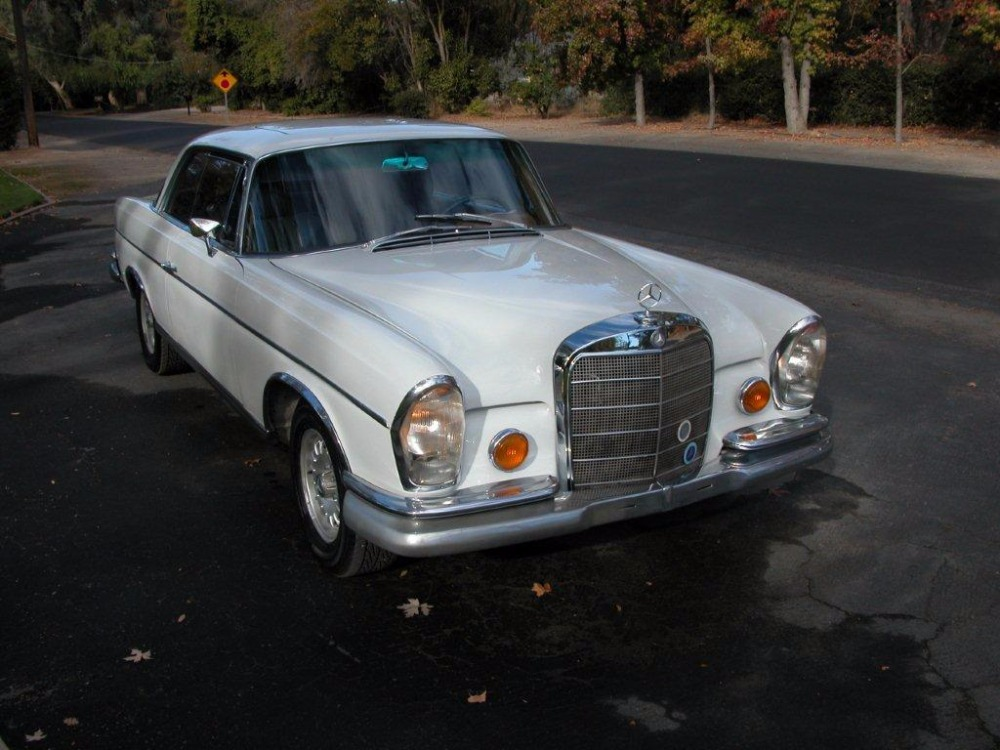 1966 mercedes benz 300se sunroof coupe stock 22115 for for Mercedes benz sign for sale