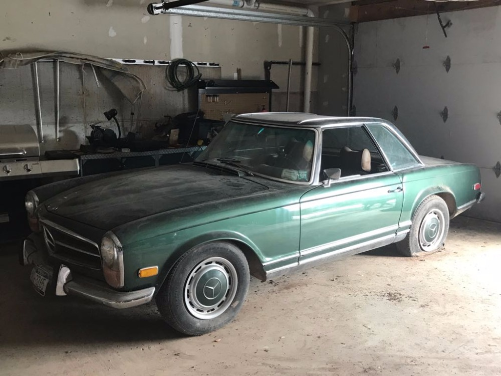 1970 mercedes benz 280sl stock 22119 for sale near for Mercedes benz sign for sale