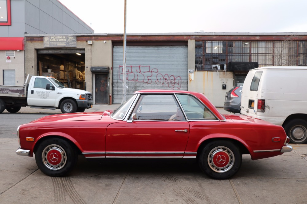 1968 mercedes benz 280sl stock 22117 for sale near for Mercedes benz sign for sale