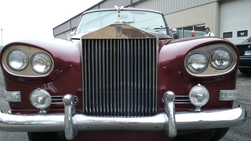 Used 1964 Rolls-Royce Silver Cloud III 'Chinese Eye' Drophead Coupe By: Mulliner-Park Ward LHD | Astoria, NY