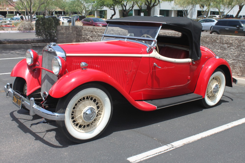 1935 Mercedes-Benz 200 Sport Roadster 1