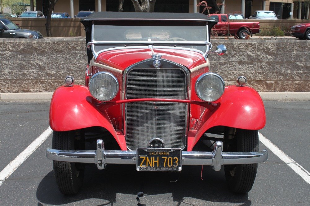 1935 Mercedes-Benz 200 Sport Roadster 2