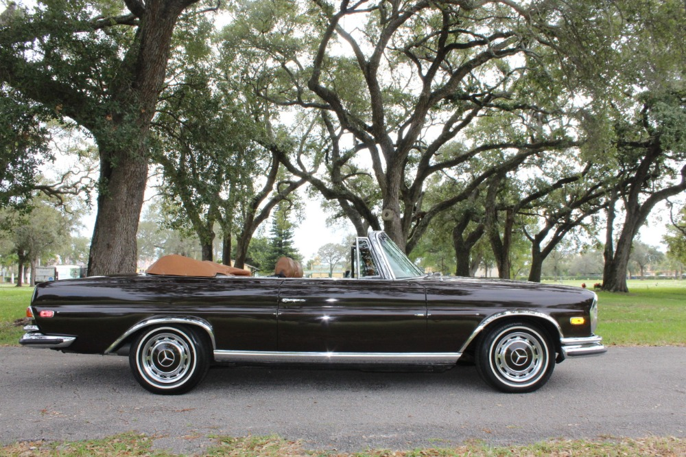 1971 mercedes benz 280 se 3 5 cabriolet stock 22757 for. Black Bedroom Furniture Sets. Home Design Ideas