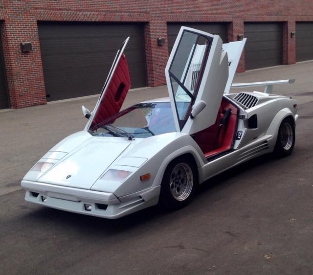 1989 Lamborghini Countach 25th Anniversary Stock # 22839