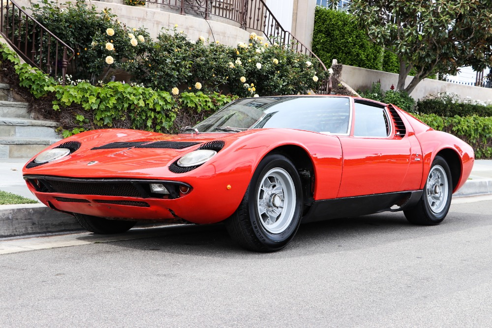 Used 1971 Lamborghini Miura S Matching Numbers | Astoria, NY