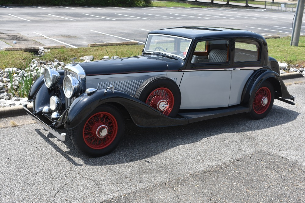 Used 1936 Bentley 4 1/4 Litre Pillarless Sports Saloon by Vanden Plas | Astoria, NY