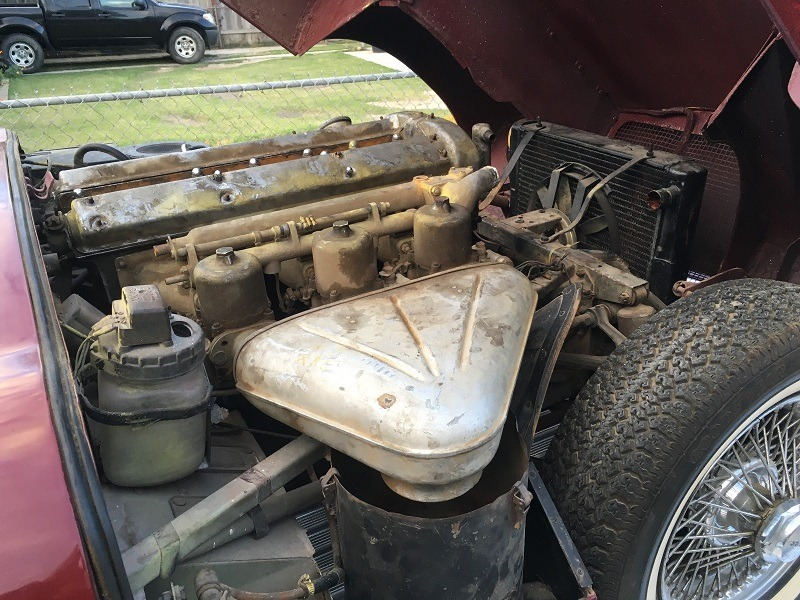 Used 1961 Jaguar XKE Flat-Floor Welded Louver Series I Roadster | Astoria, NY