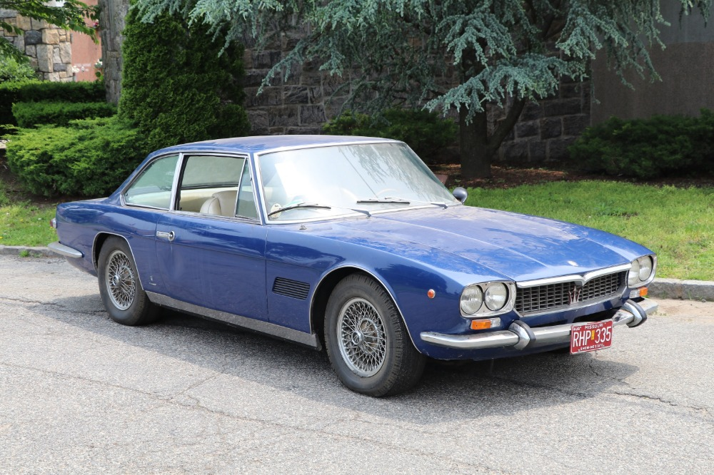 Used 1970 Maserati Mexico 4.7 Coupe by Vignale: Original Matching Numbers Barn-Find | Astoria, NY