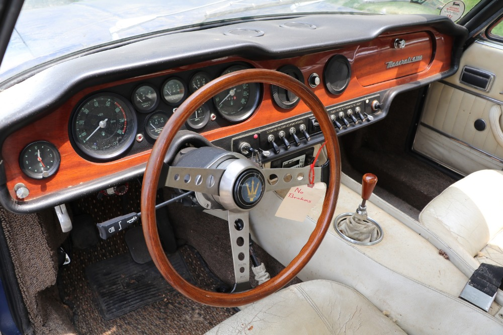 Used 1970 Maserati Mexico 4.7 Coupe by Vignale: Original Matching Numbers Barn-Find   Astoria, NY