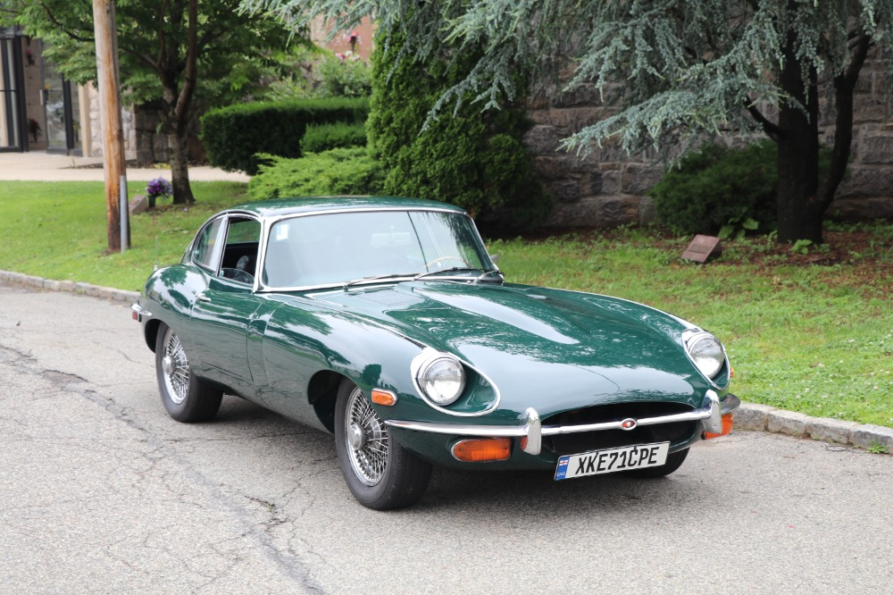 Used 1971 Jaguar XKE 2 Seater Coupe with Matching Numbers | Astoria, NY
