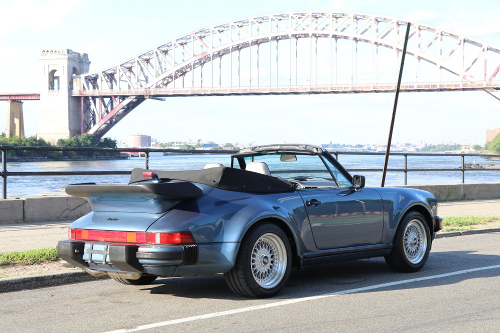 Used 1989 Porsche 930 Turbo Turbo Cabriolet: Last Year for the 930 and Only Year with 5-Speed Gearbox | Astoria, NY