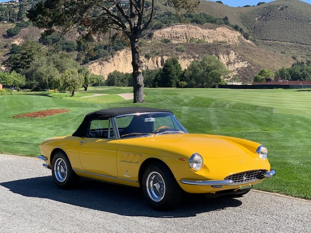 Used 1967 Ferrari 330GTS Spider Classiche Certified with Red Book | Astoria, NY