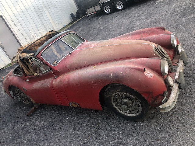 Used 1955 Jaguar XK140 MC Drop Head Coupe | Astoria, NY