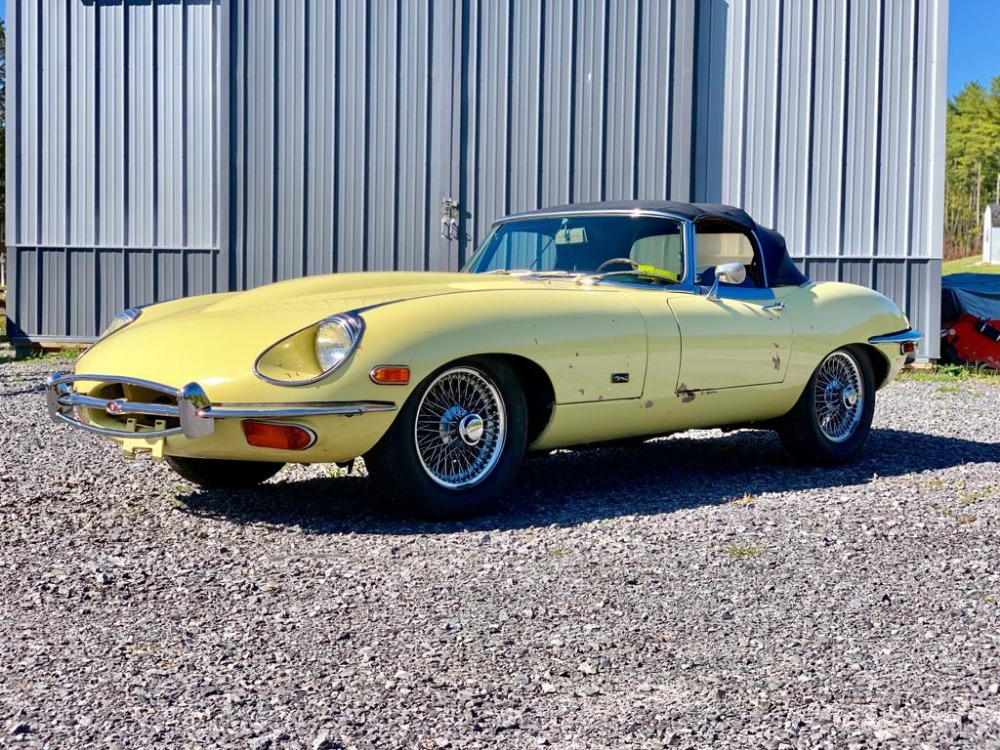 Used 1971 Jaguar XKE Series II 4.2 Roadster | Astoria, NY