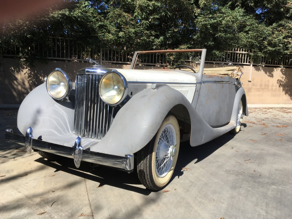 Used 1948 Jaguar Mark IV Drophead Coupe | Astoria, NY