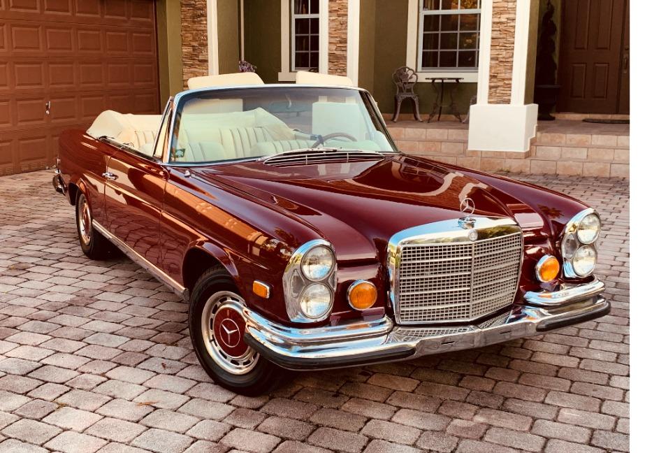 Used 1971 Mercedes-Benz 280 SE 3.5 Cabriolet  | Astoria, NY