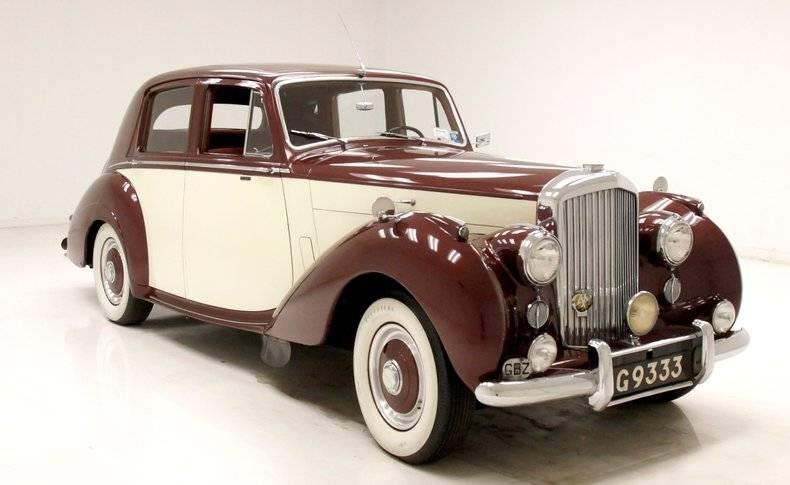 1953 Bentley R-Type Left-Hand-Drive