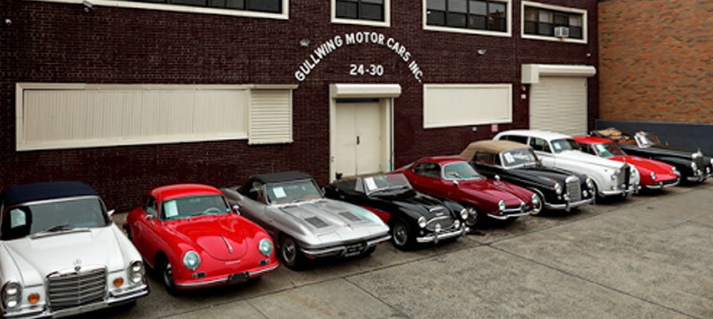 Gullwing Motor Cars Collector And Classic Car Dealer Buy And